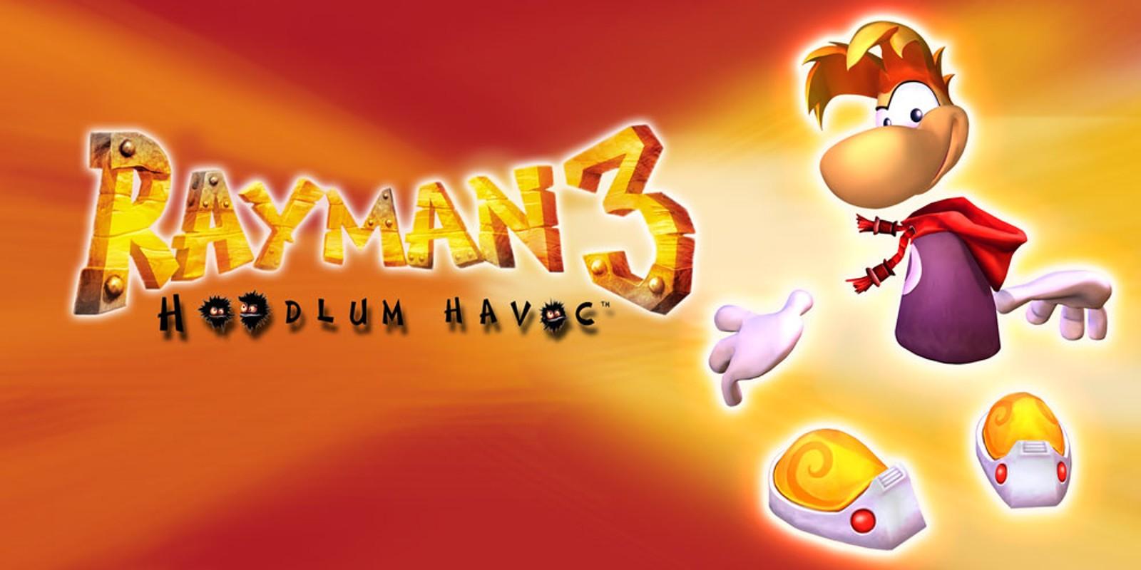 Znalezione obrazy dla zapytania rayman 3 title