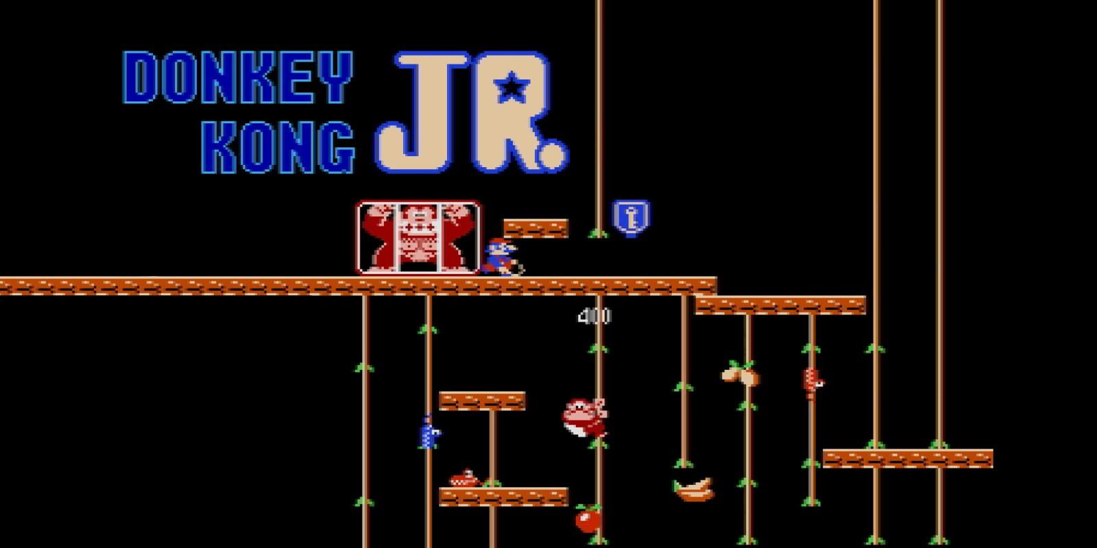 Donkey Kong Jr NES Games Nintendo