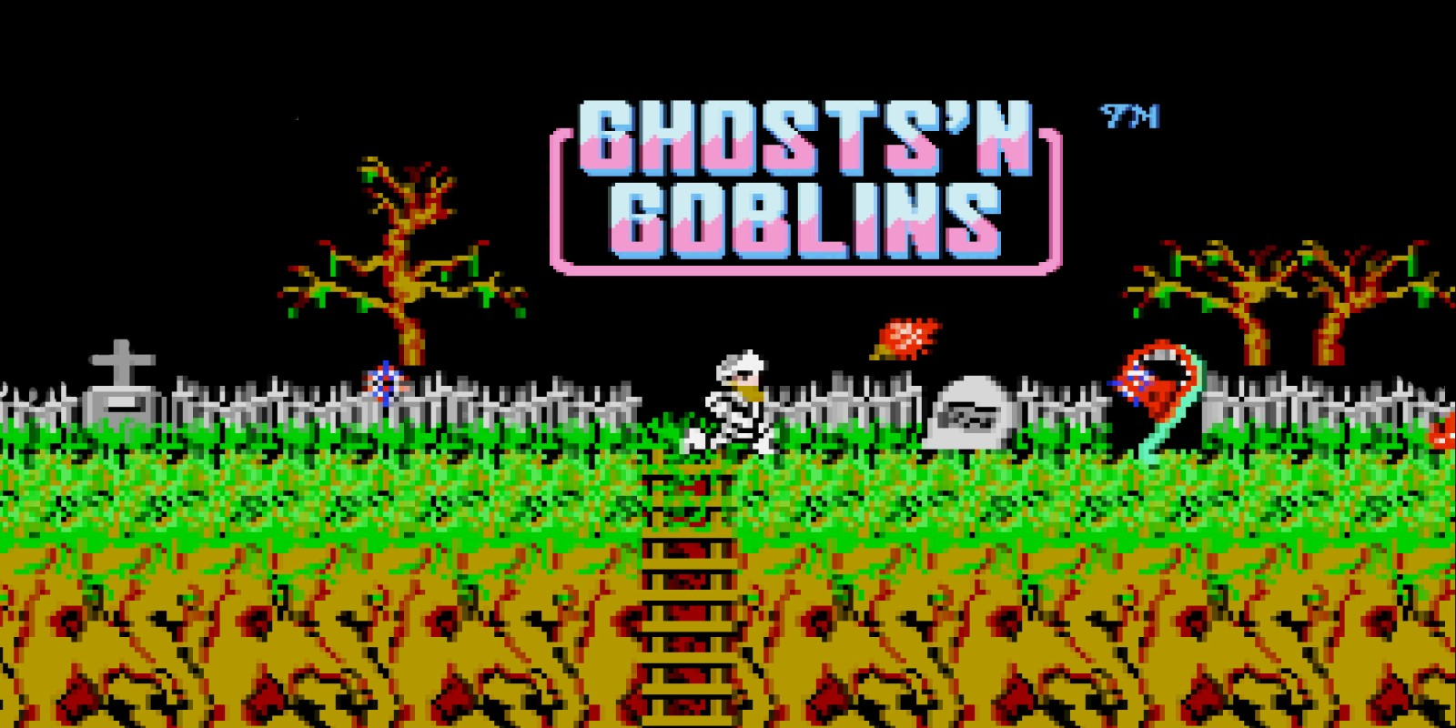 Ghosts 'n Goblins - top de zombies