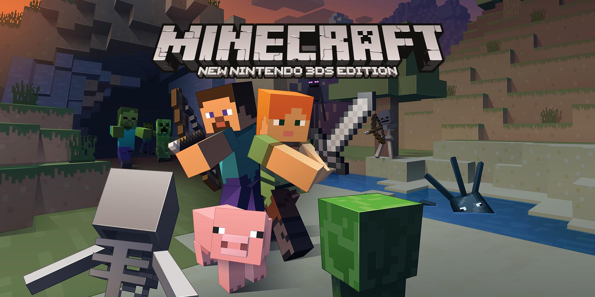 Minecraft New Nintendo DS Edition New Nintendo DS Spiele - Minecraft zum spielen jetzt