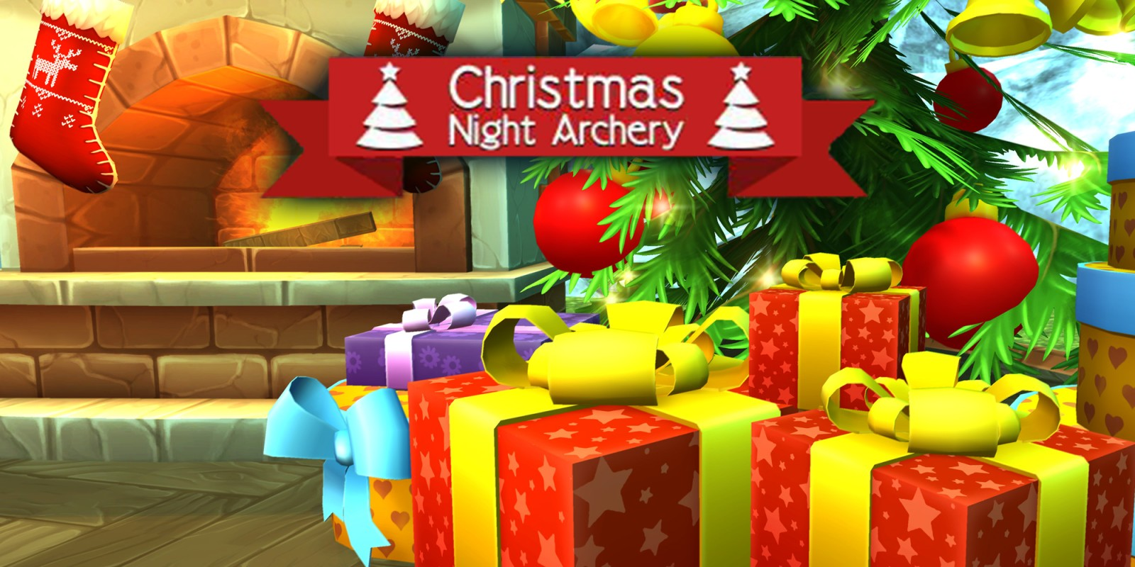 Christmas Night Archery | New Nintendo 3DS Download Software | Games ...