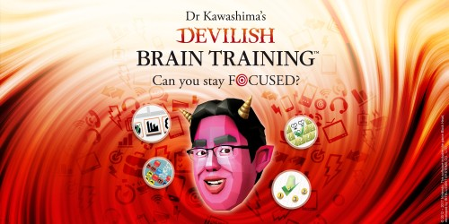 Prepare to train your brain at the new Dr Kawashima's Devilish Brain Training: Can you stay focused? website!