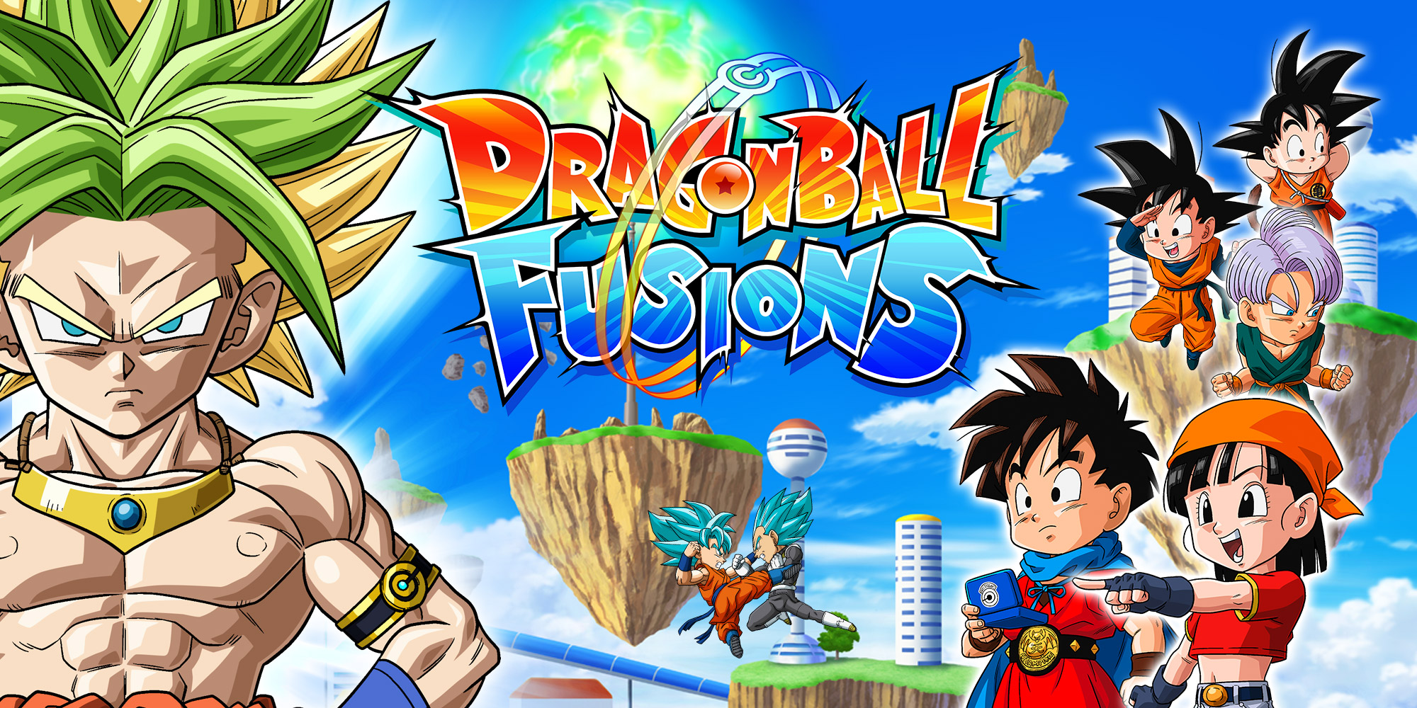 Dragon Ball Fusions Nintendo 3ds Games Nintendo