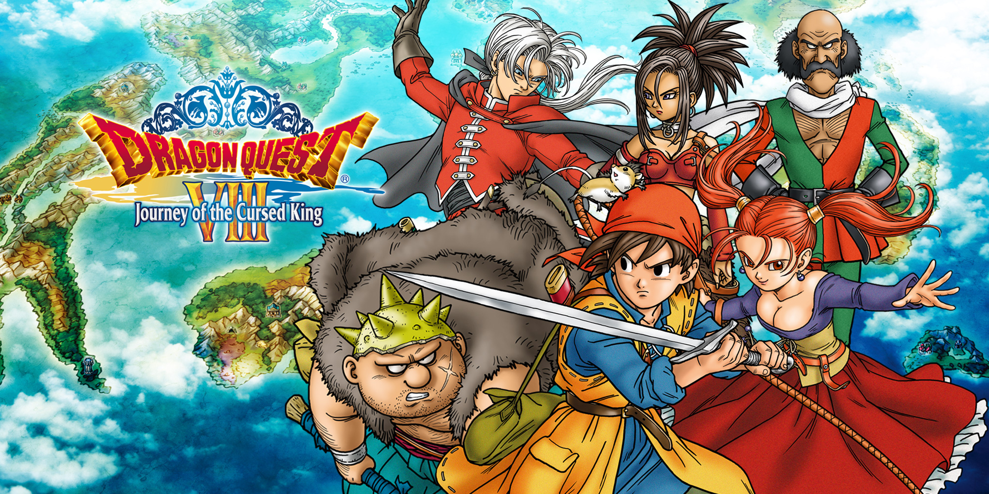 Begin een groots avontuur op onze website voor DRAGON QUEST VIII: Journey of the Cursed King!