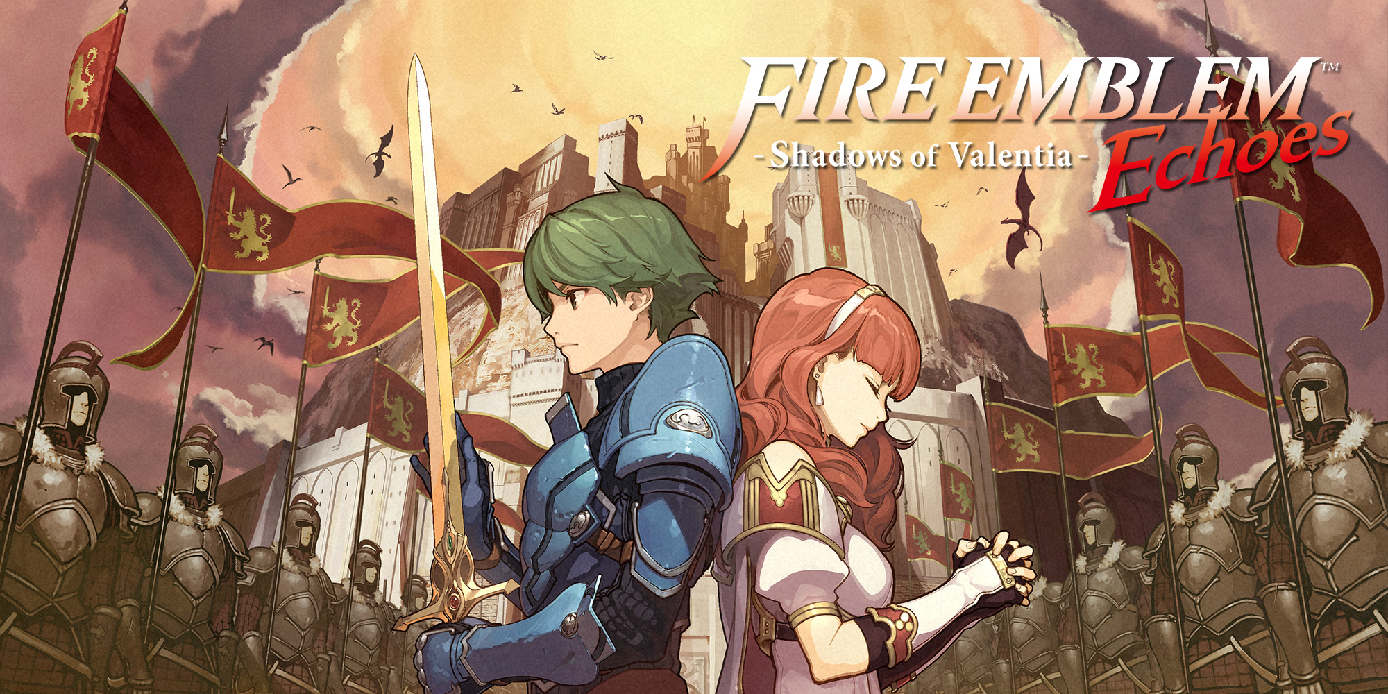 The fate of Valentia is in your hands in Fire Emblem Echoes: Shadows of Valentia, coming to Nintendo 3DS family systems on May 19th