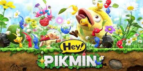 Discover the tiny world of the Pikmin at our official Hey! PIKMIN website!