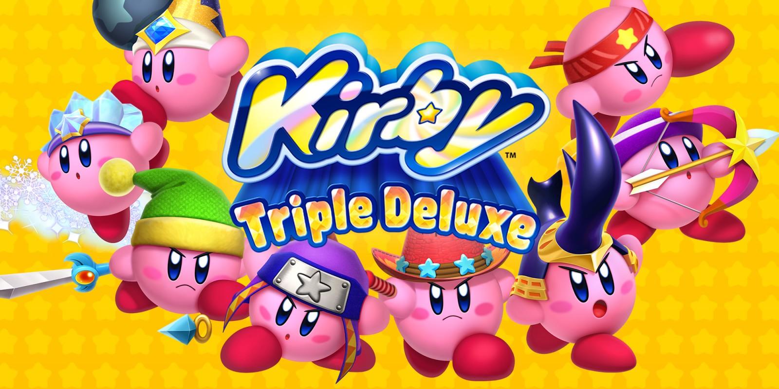 Kirby Triple Deluxe Nintendo 3ds Giochi Nintendo