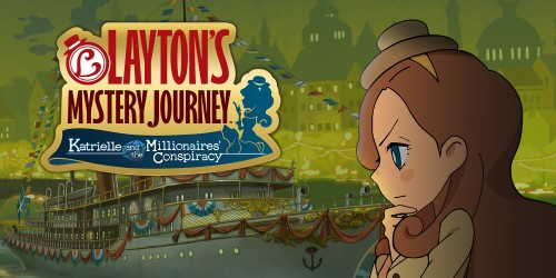 In shops and on Nintendo eShop now: LAYTON'S MYSTERY JOURNEY™: Katrielle and the Millionaires' Conspiracy