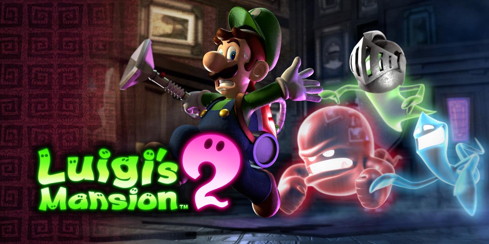 Luigi S Mansion 2 Nintendo 3ds Games Nintendo