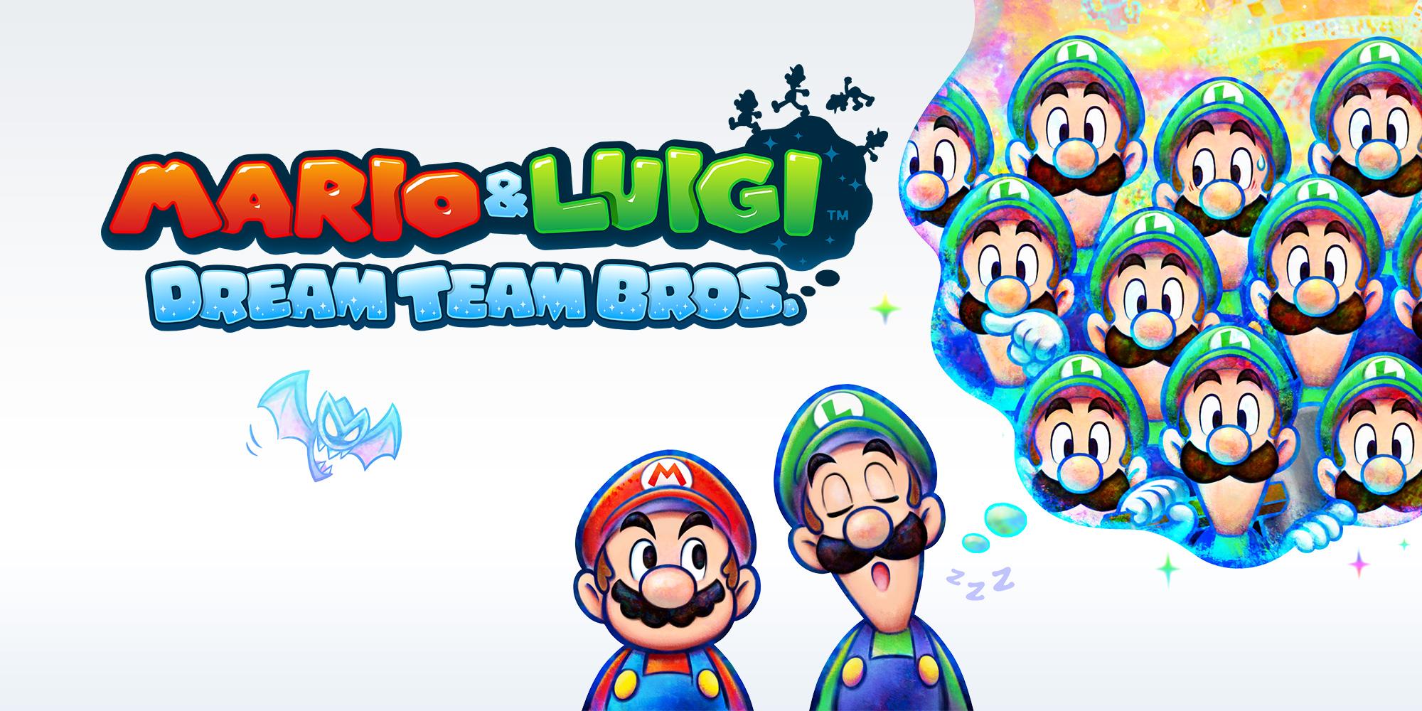 Mario Luigi Dream Team Bros Nintendo 3ds Games Nintendo