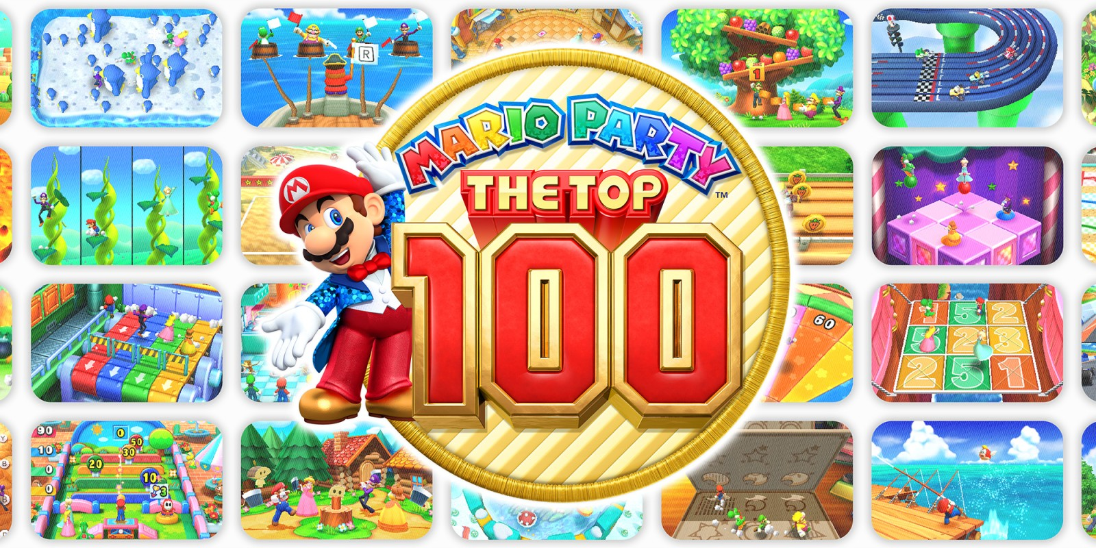 Mario Party The Top 100 Nintendo 3ds Juegos Nintendo