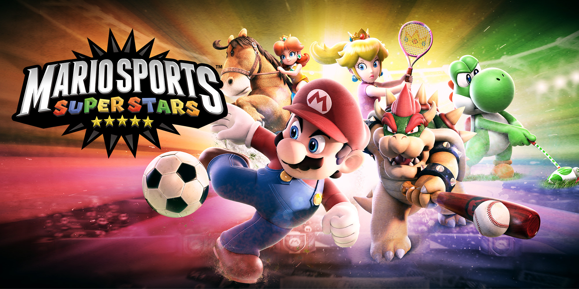Begin your journey to superstardom at the Mario Sports Superstars website!