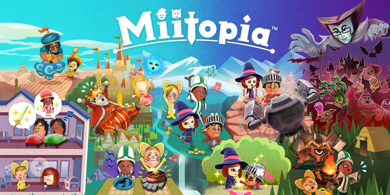 Miitopia nintendo 3ds games nintendo try watching this video on youtube or enable javascript if it is disabled in your browser ccuart Images