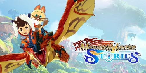 Soar into adventure at our Monster Hunter Stories™ website!