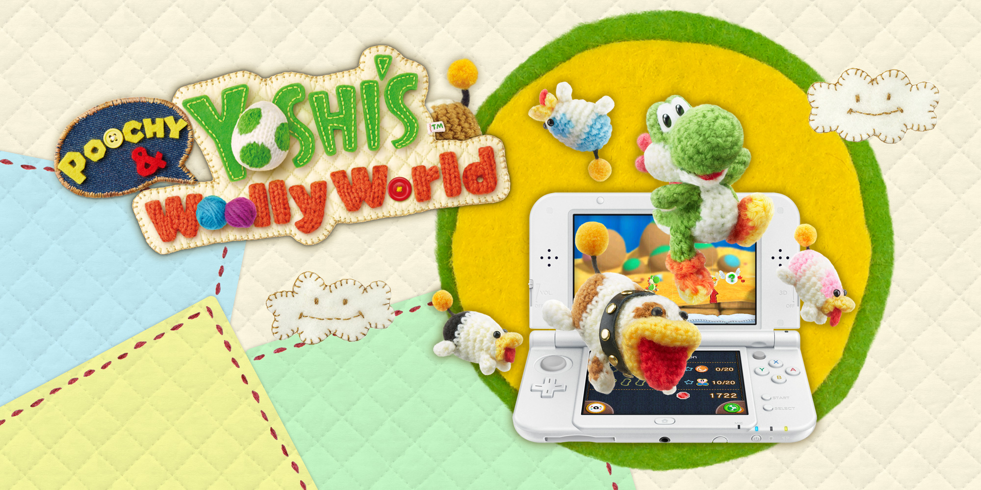 Unravel the info on Poochy & Yoshi's Woolly World at our official website!