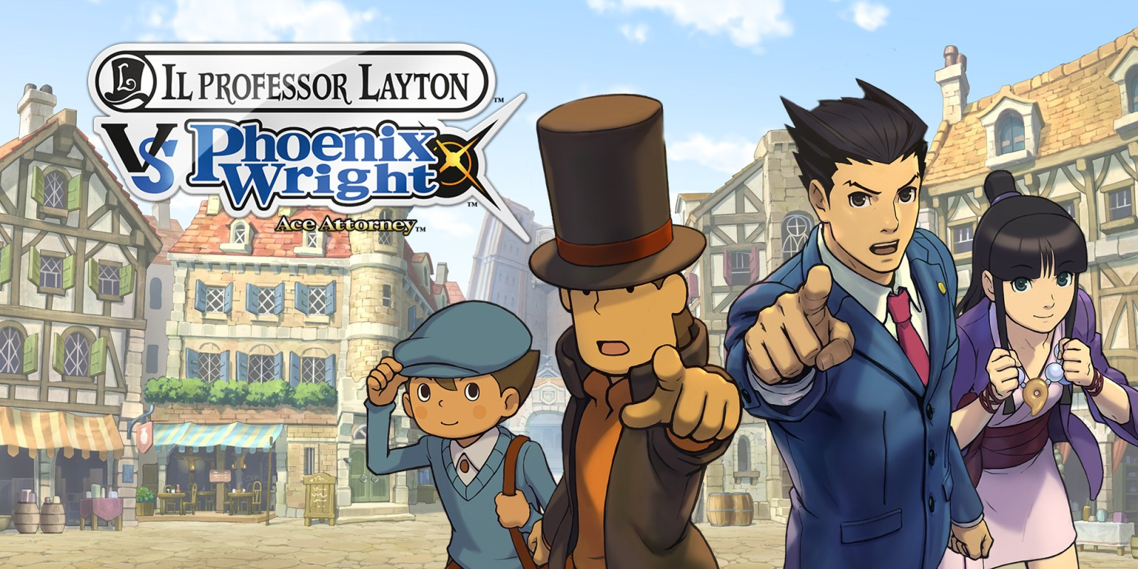 Il Professor Layton vs. Phoenix Wright: Ace Attorney