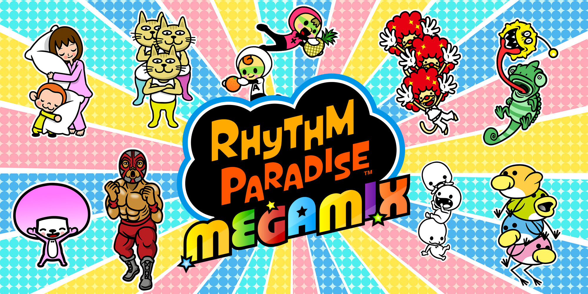 Find your flow at our updated Rhythm Paradise Megamix gamepage!
