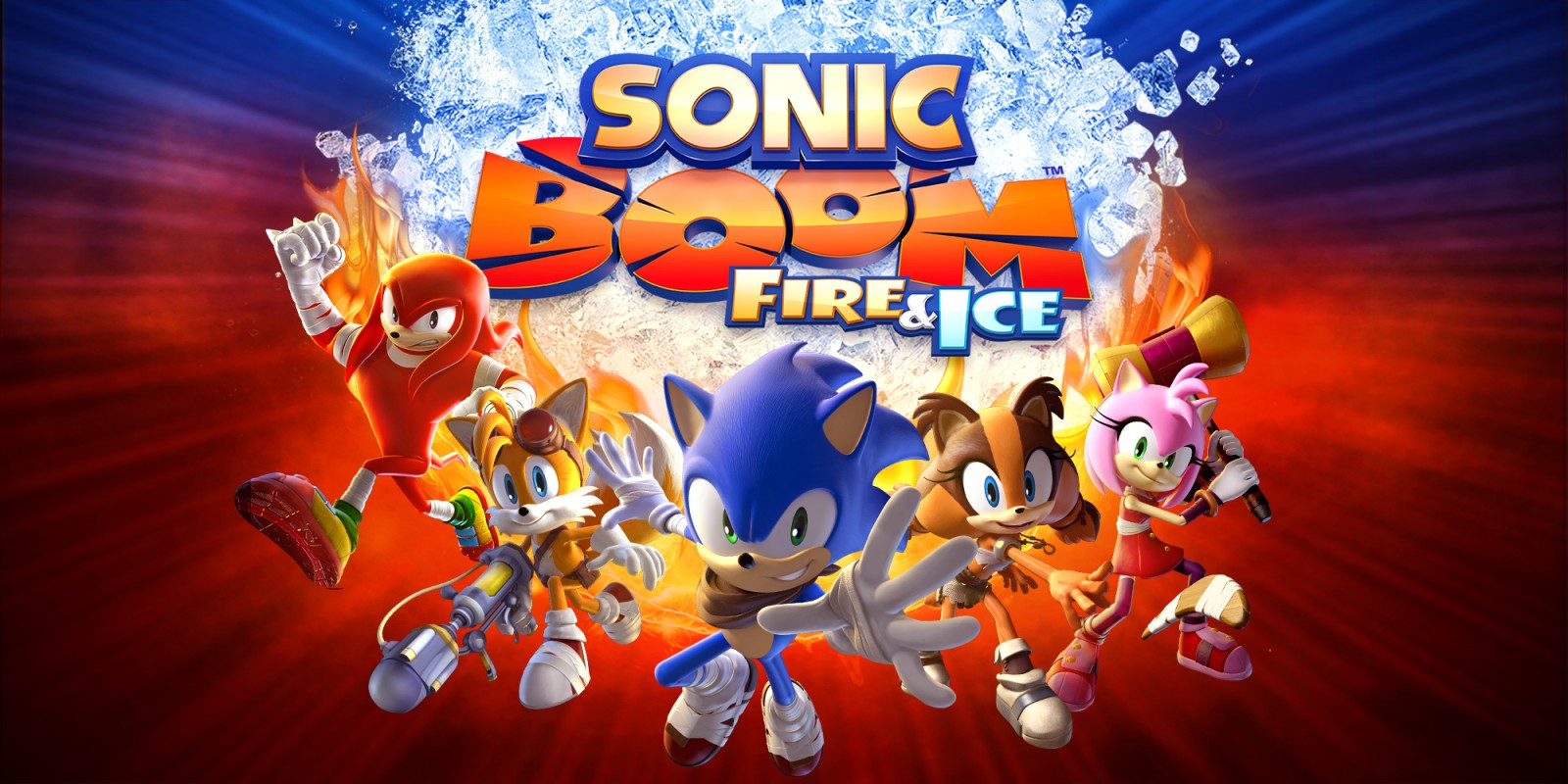 Sonic Boom Fire Amp Ice Nintendo 3ds Games Nintendo