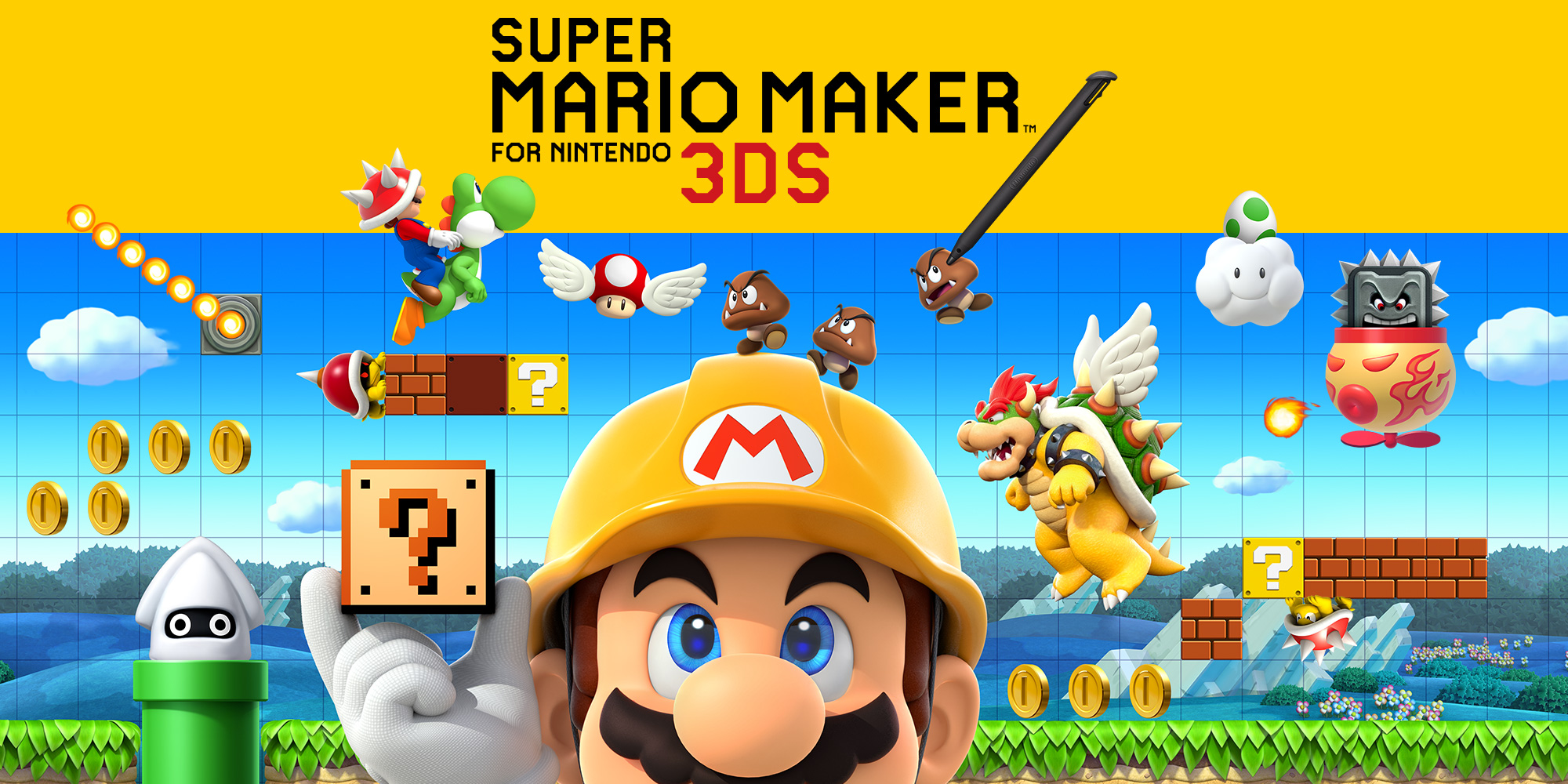 Nintendo 3ds Mario Games : Super mario maker for nintendo ds games