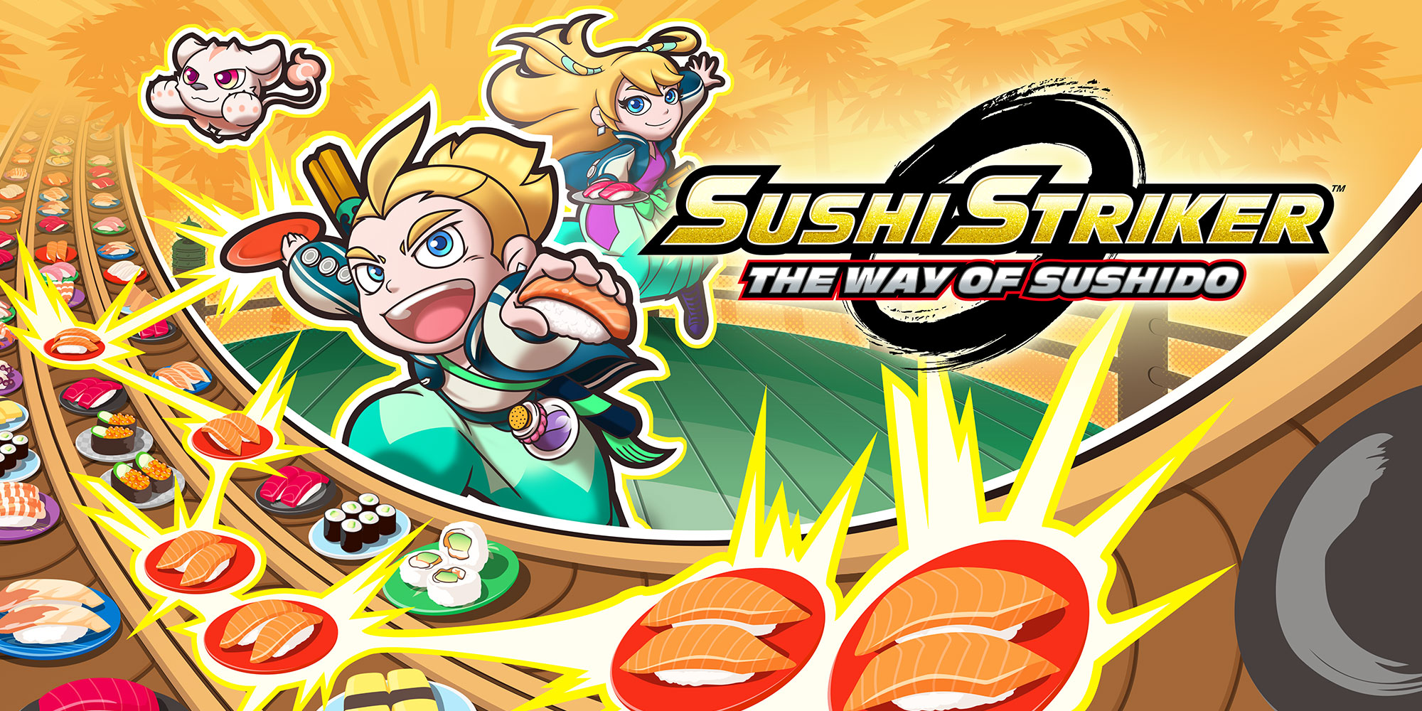 Resultado de imagen de Sushi Striker: The Way of Sushido