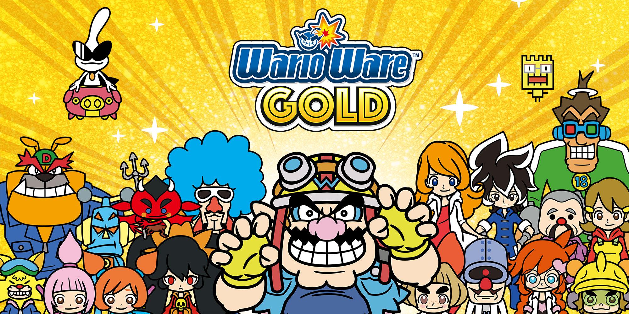 Resultado de imagen de warioWare Gold