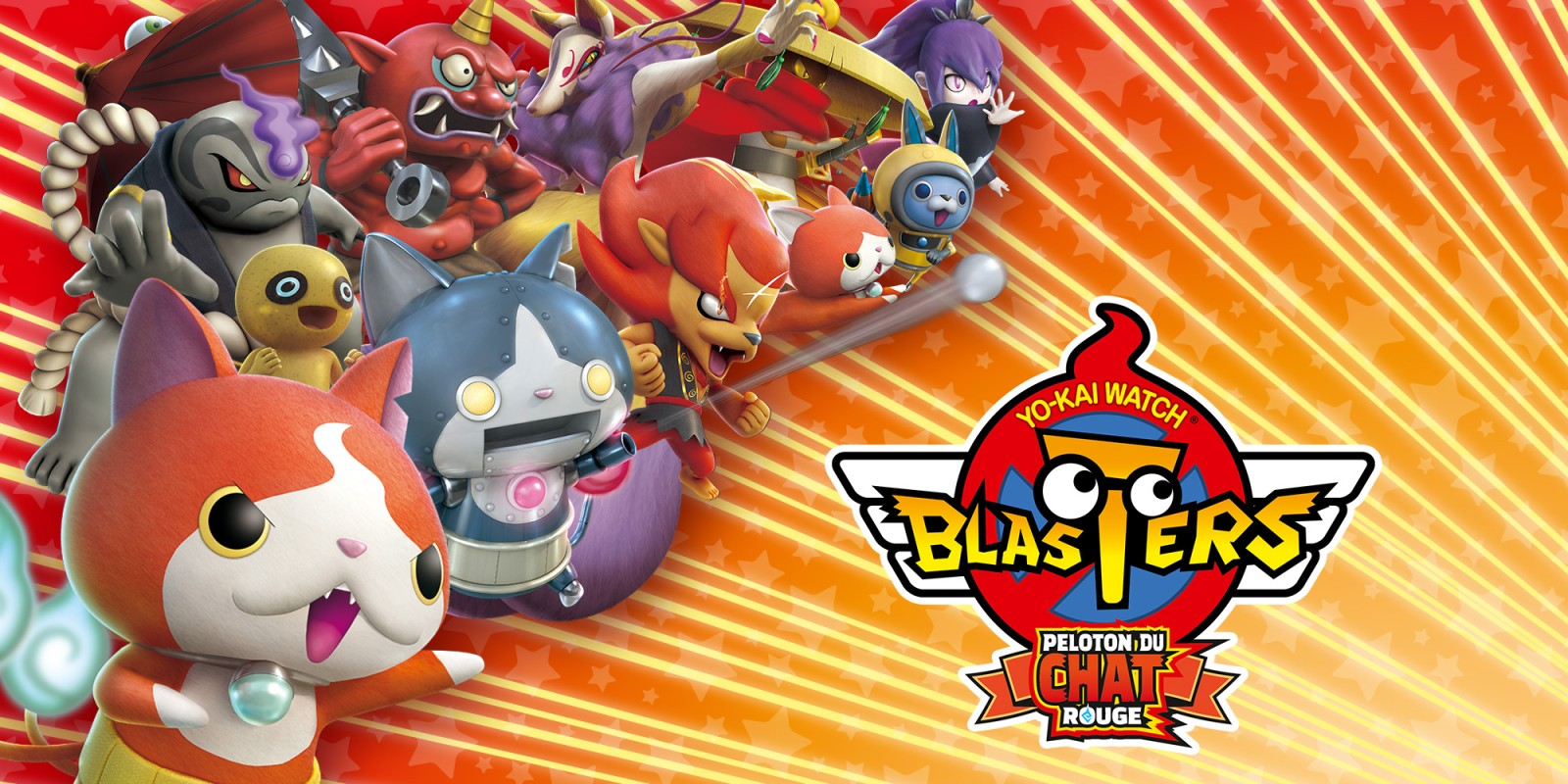 YO-KAI WATCH BLASTERS®: Peloton du Chat Rouge