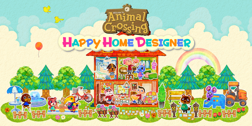 Happy Days On Nintendo Ds With Animal Crossing Happy Home Designer News Nintendo