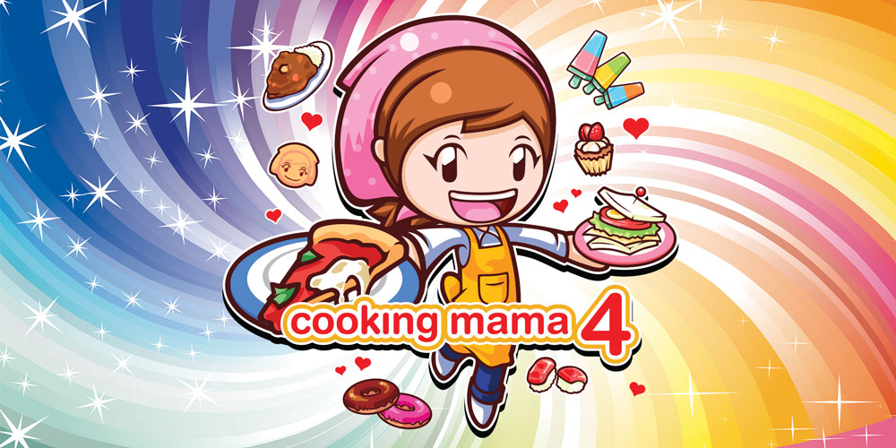 cooking mama 4 nintendo 3ds games nintendo