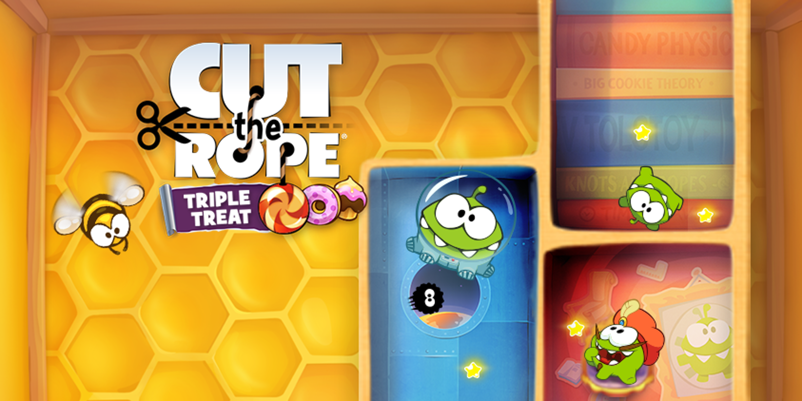 Cut The Rope 174 Triple Treat Nintendo 3ds Games Nintendo