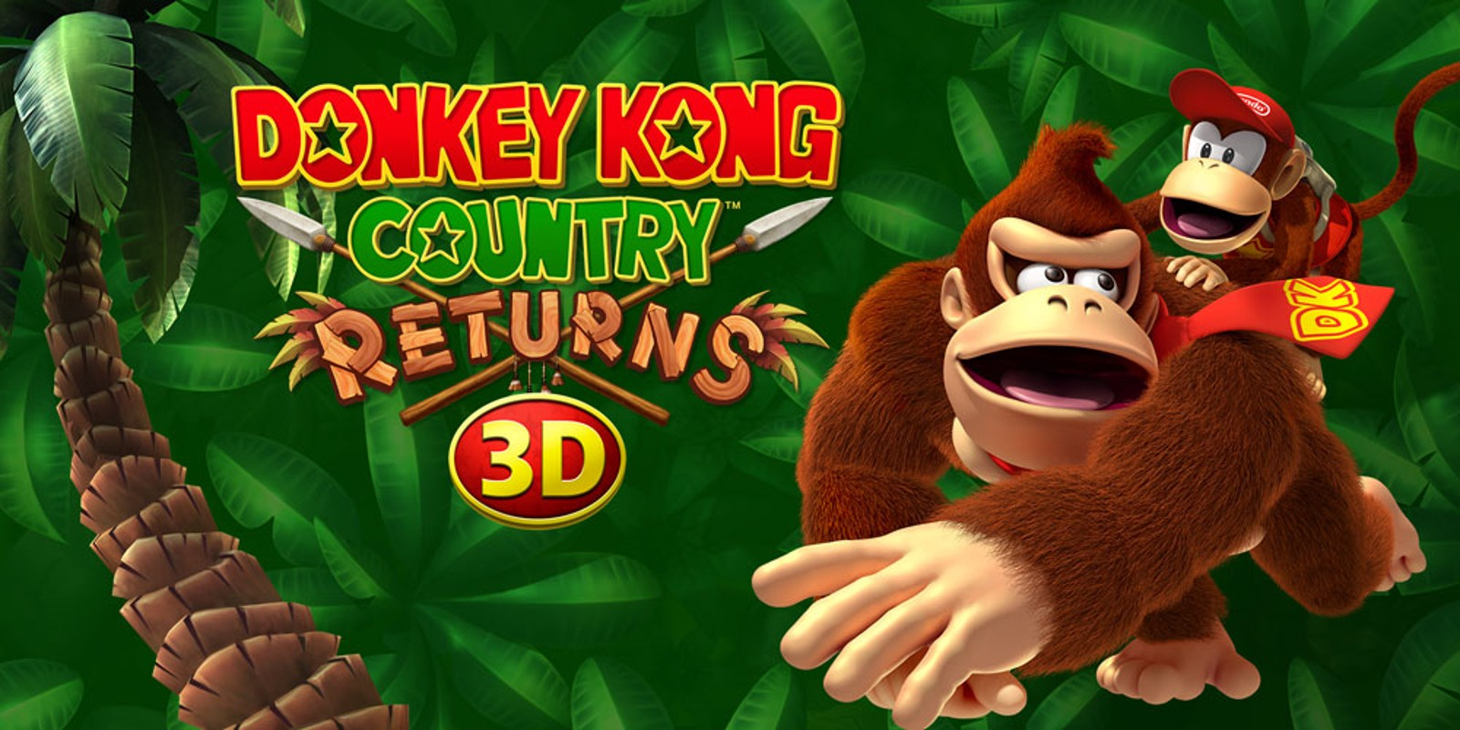 donkey kong country returns 3d nintendo 3ds games nintendo. Black Bedroom Furniture Sets. Home Design Ideas