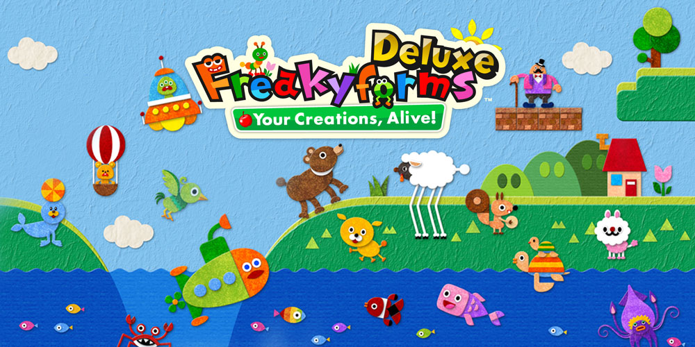 Freakyforms Deluxe Your Creations, Alive!