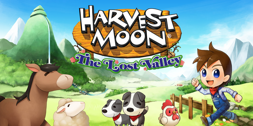En geef het landschap vorm in harvest moon the lost valley
