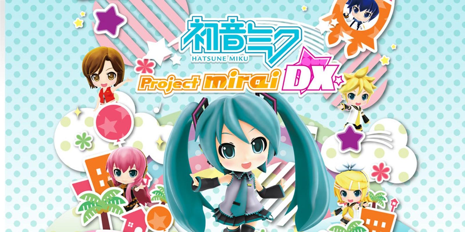 Hatsune Miku Project Mirai Dx Nintendo 3ds Juegos Nintendo