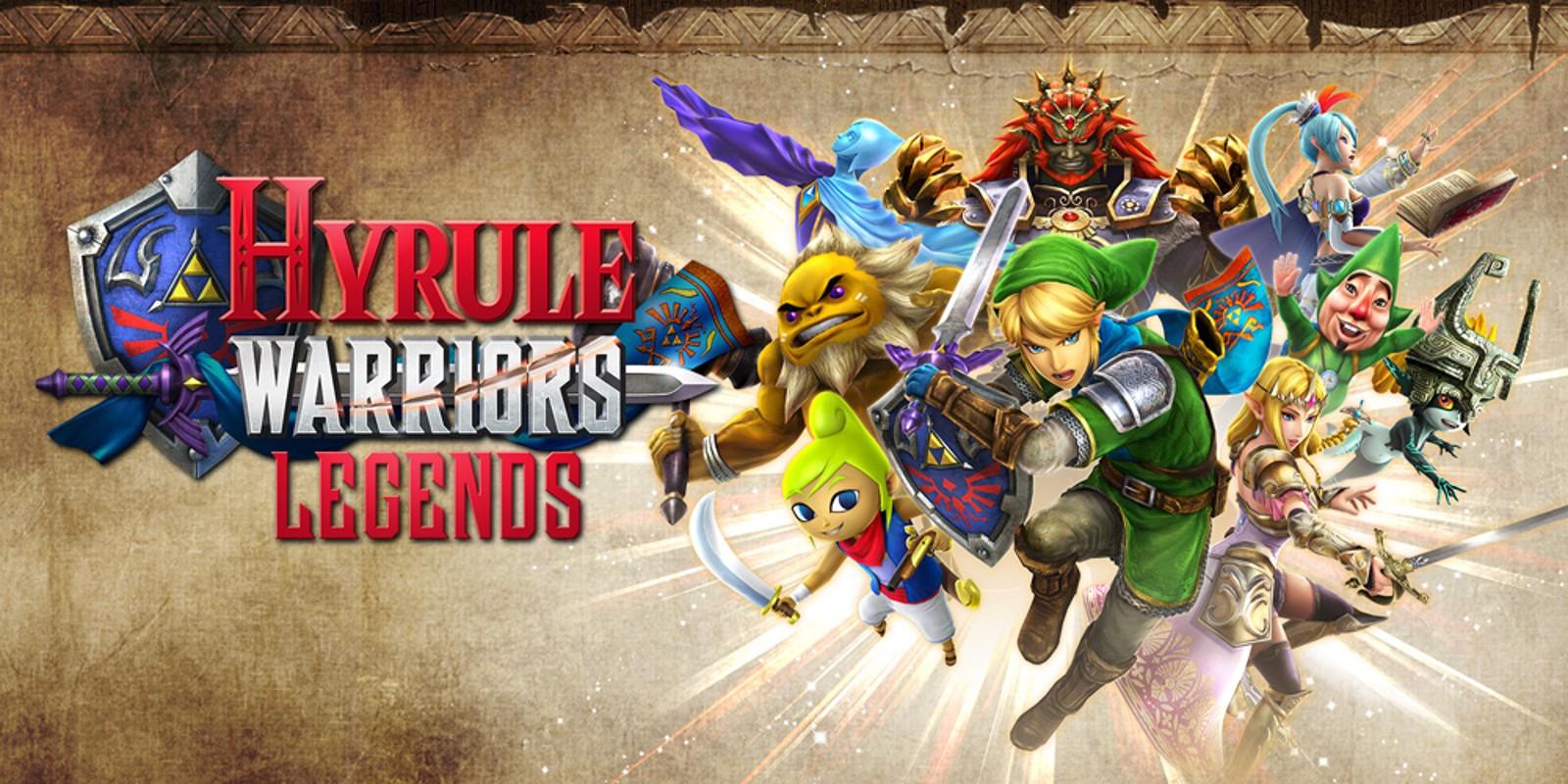 Hyrule Warriors Legends Nintendo 3ds Juegos Nintendo