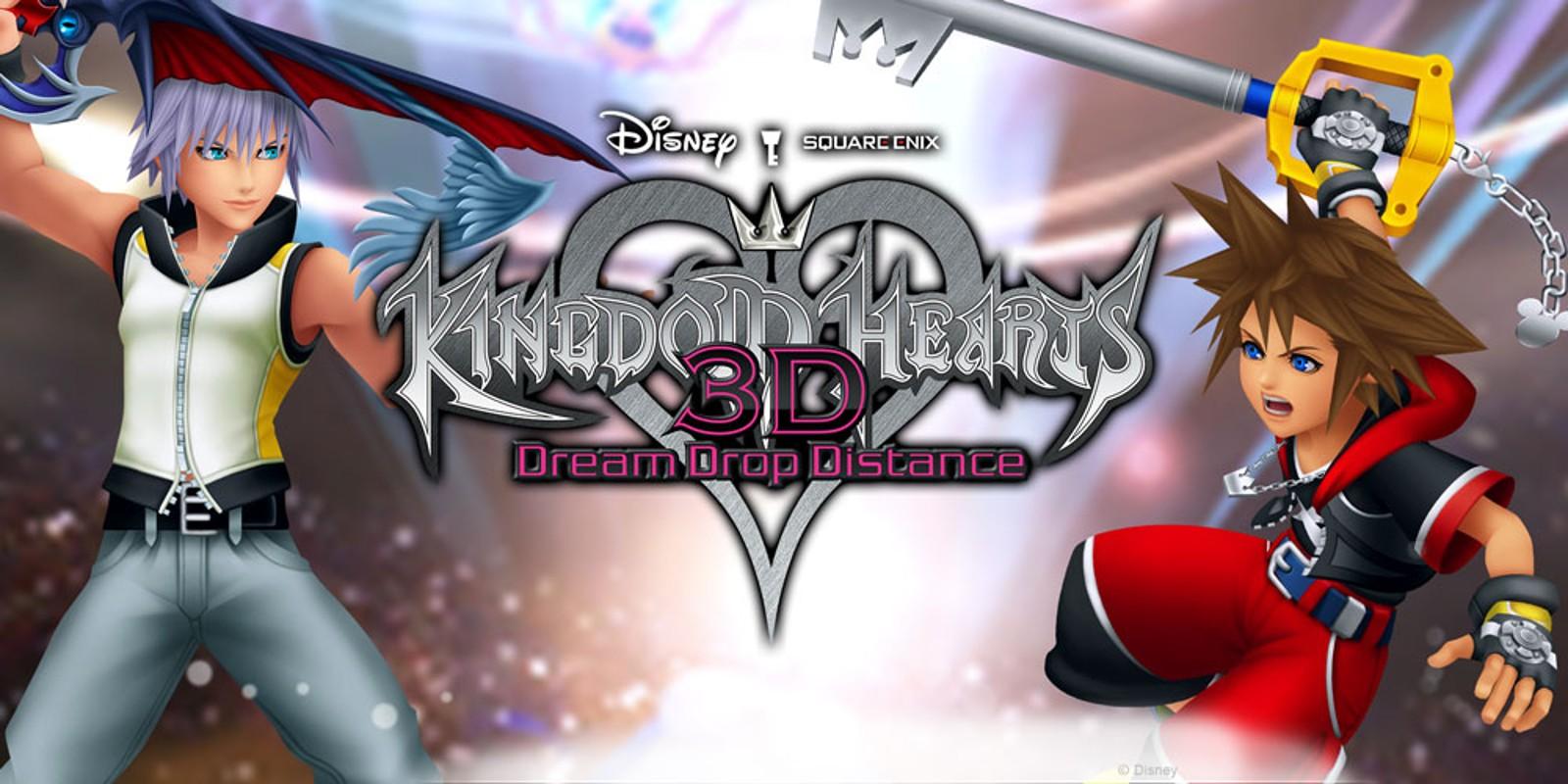 Kingdom Hearts 3d Dream Drop Distance Nintendo 3ds Juegos