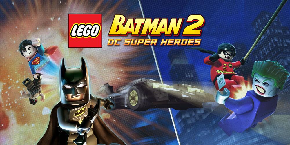 Lego Batman 2 Dc Super Heroes Nintendo 3ds Games Nintendo