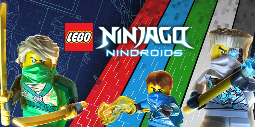 lego174 ninjago� nindroids� nintendo 3ds spiele nintendo