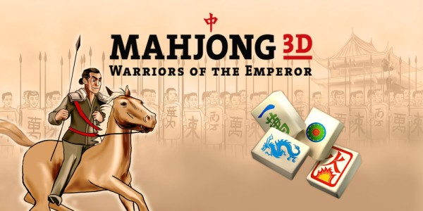 Mahjong 3D – Warriors of the Emperor