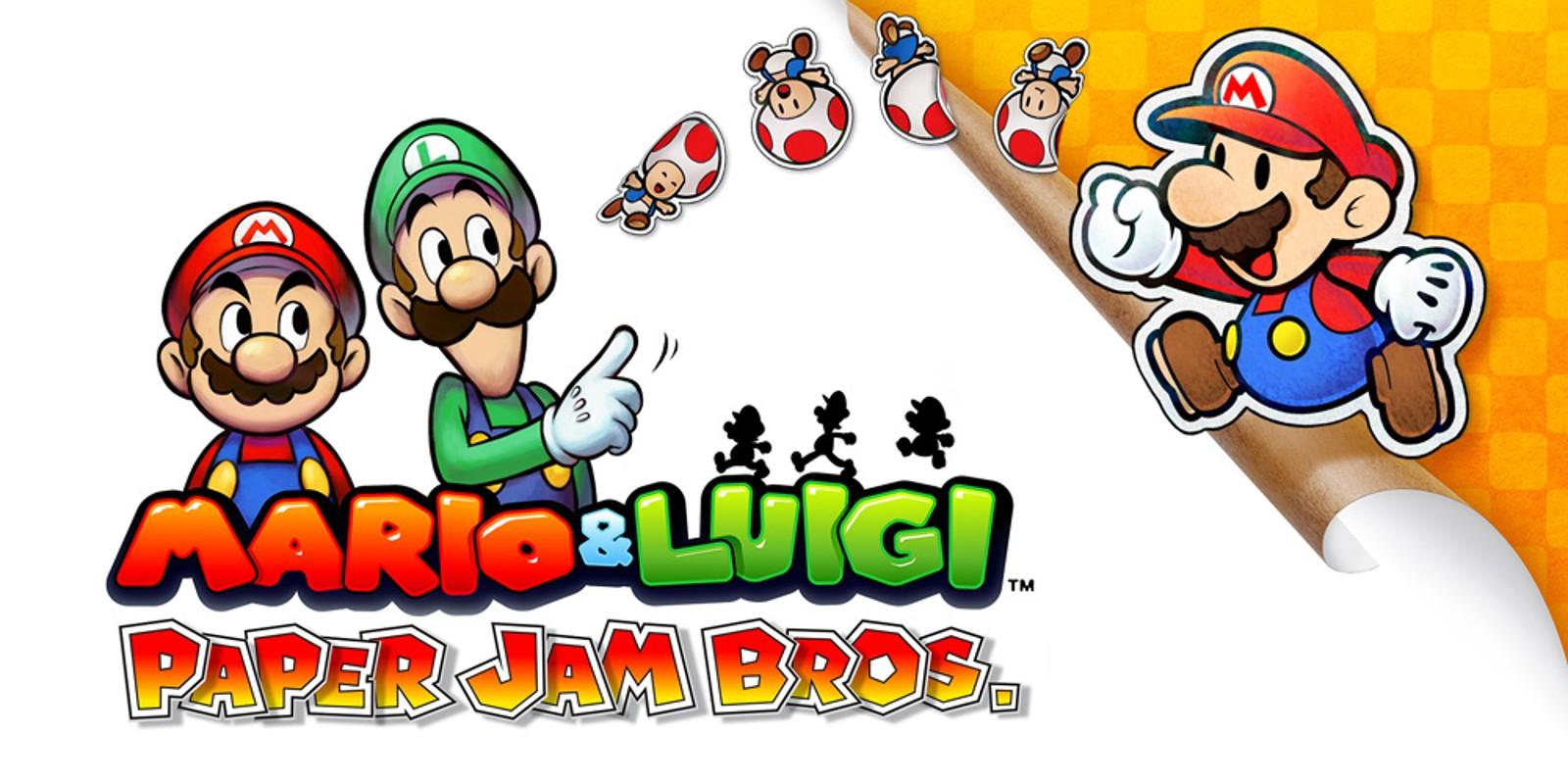 Mario Luigi Paper Jam Bros Nintendo 3ds Games Nintendo