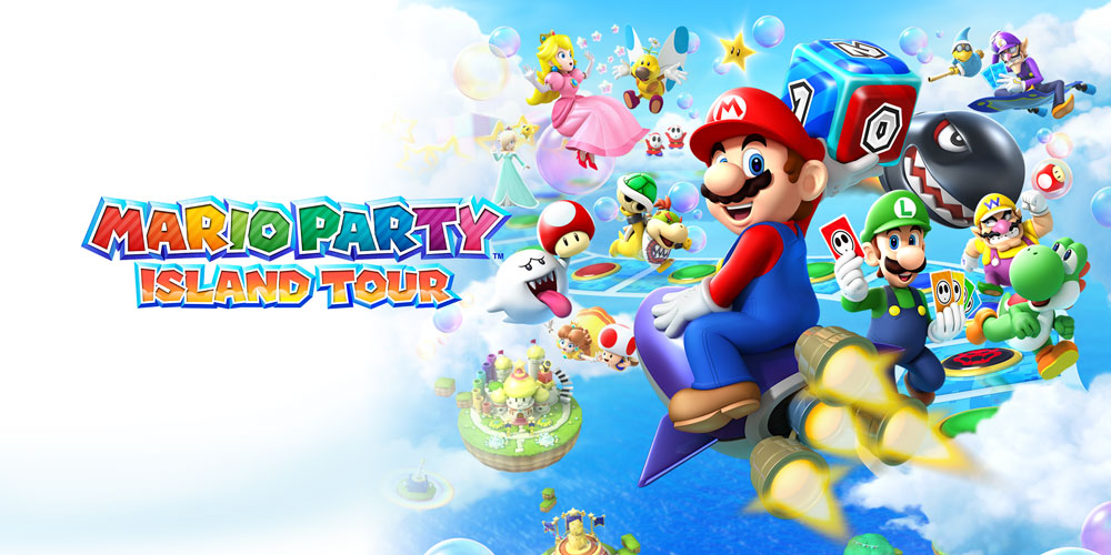Nintendo Ds Super Mario Party Island Tour