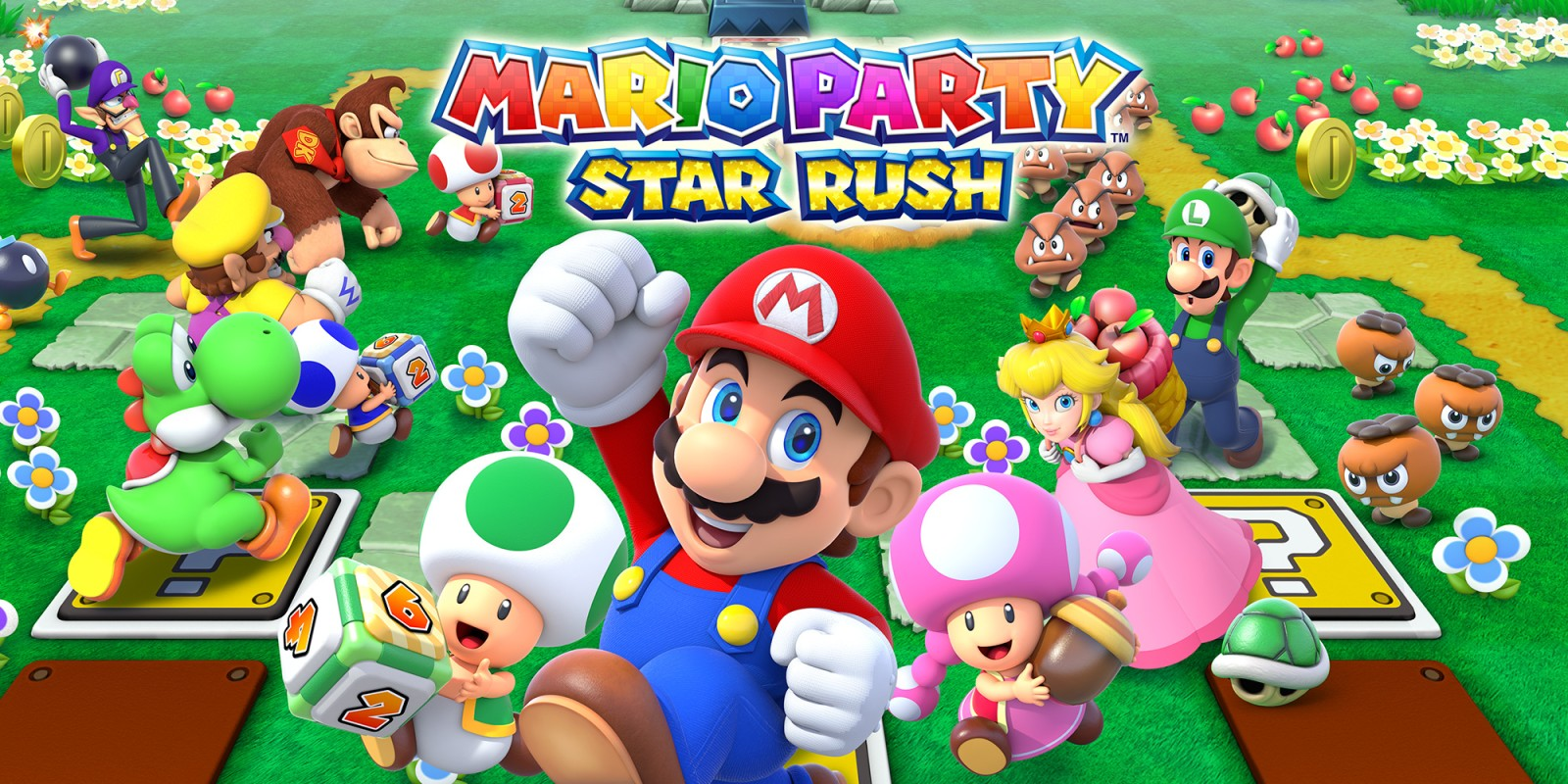 Mario Party Star Rush Nintendo 3ds Juegos Nintendo