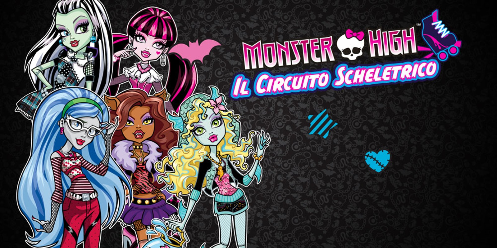 Monster High Il Circuito Scheletrico