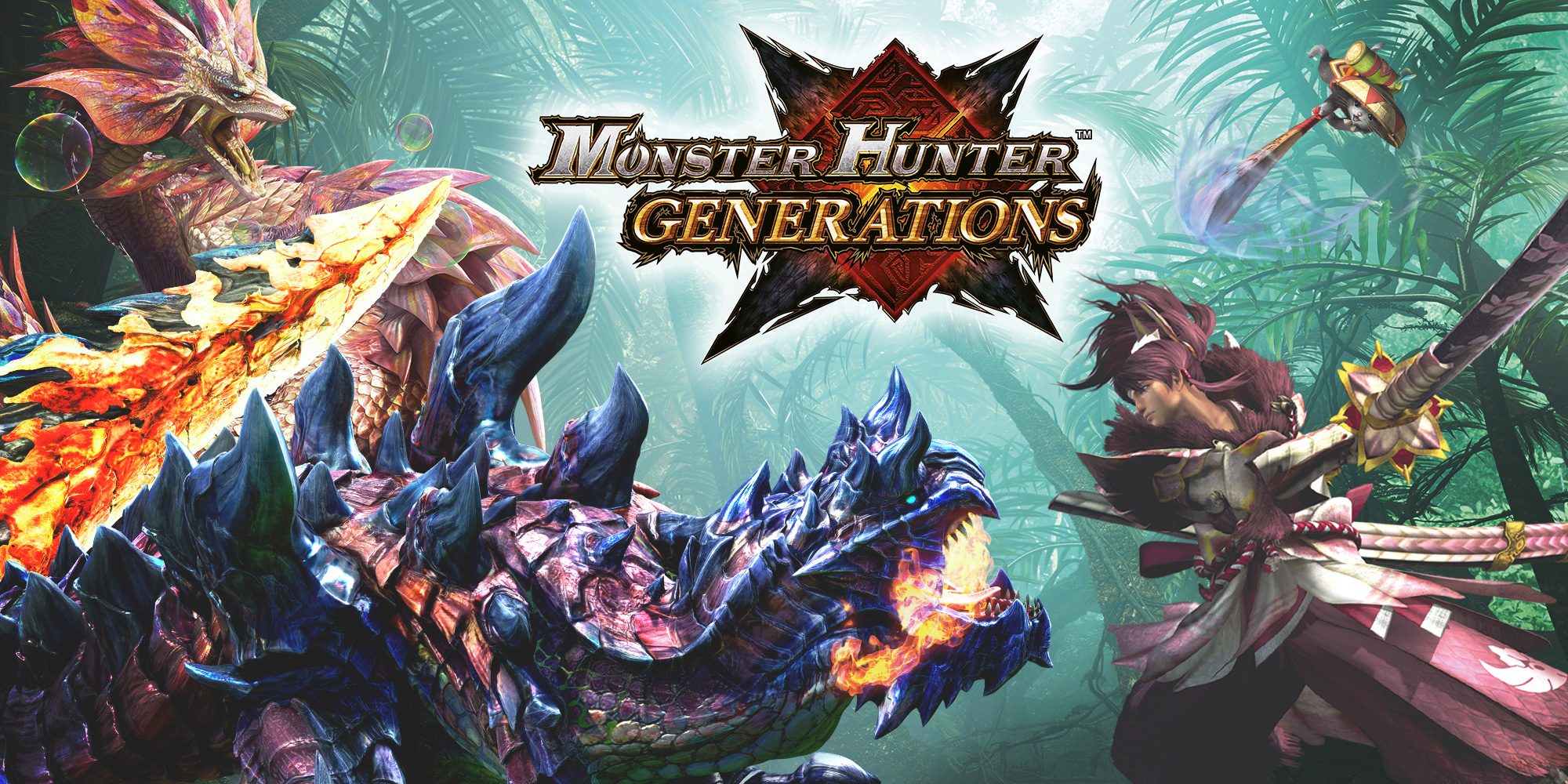 Junta-te à caçada com a demo de Monster Hunter™ Generations!