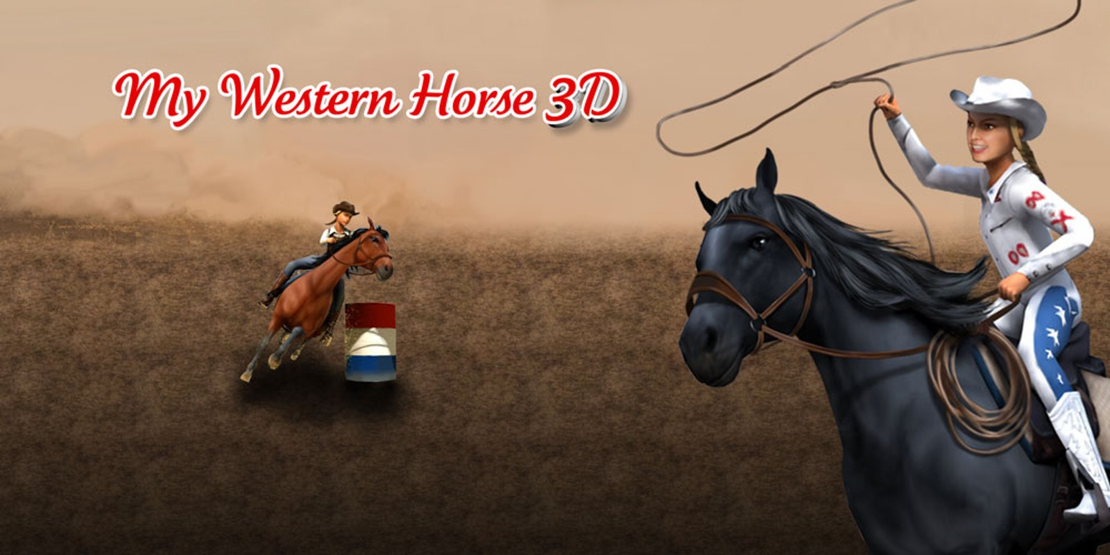 My Western Horse 3D