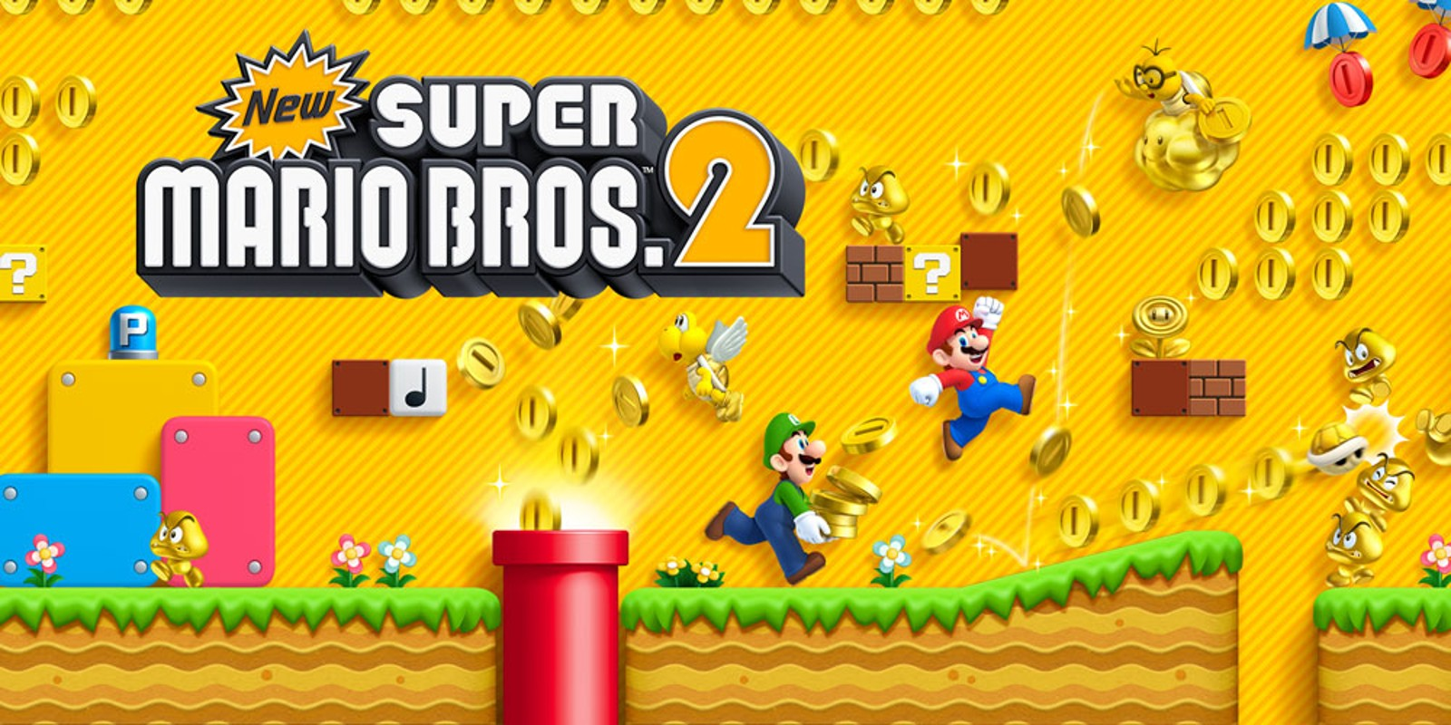 new super mario bros 2 nintendo 3ds games nintendo. Black Bedroom Furniture Sets. Home Design Ideas