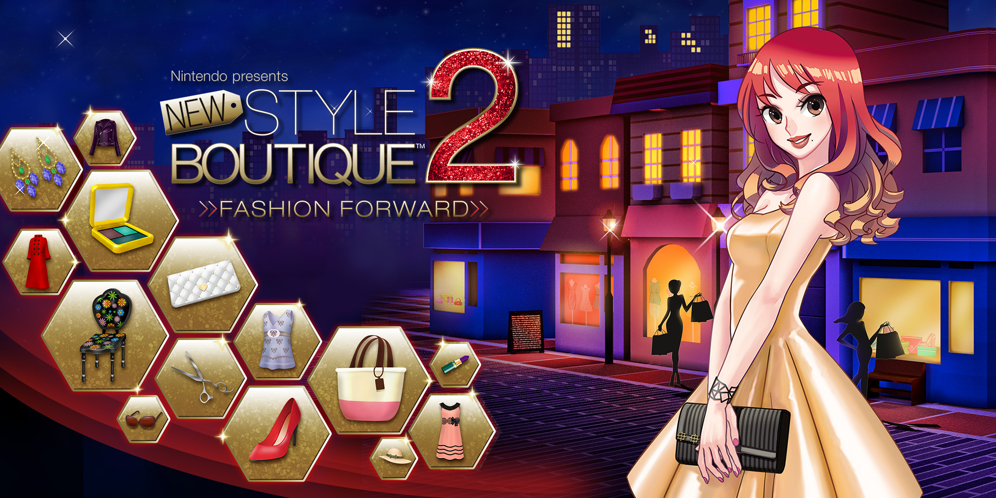 Nintendo presents new style boutique 2 fashion forward Fashion style games online