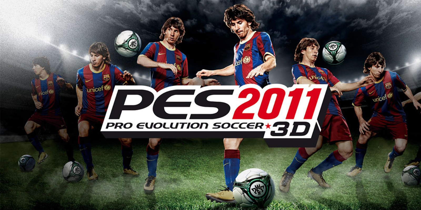 pes 2011 3d � pro evolution soccer nintendo 3ds games