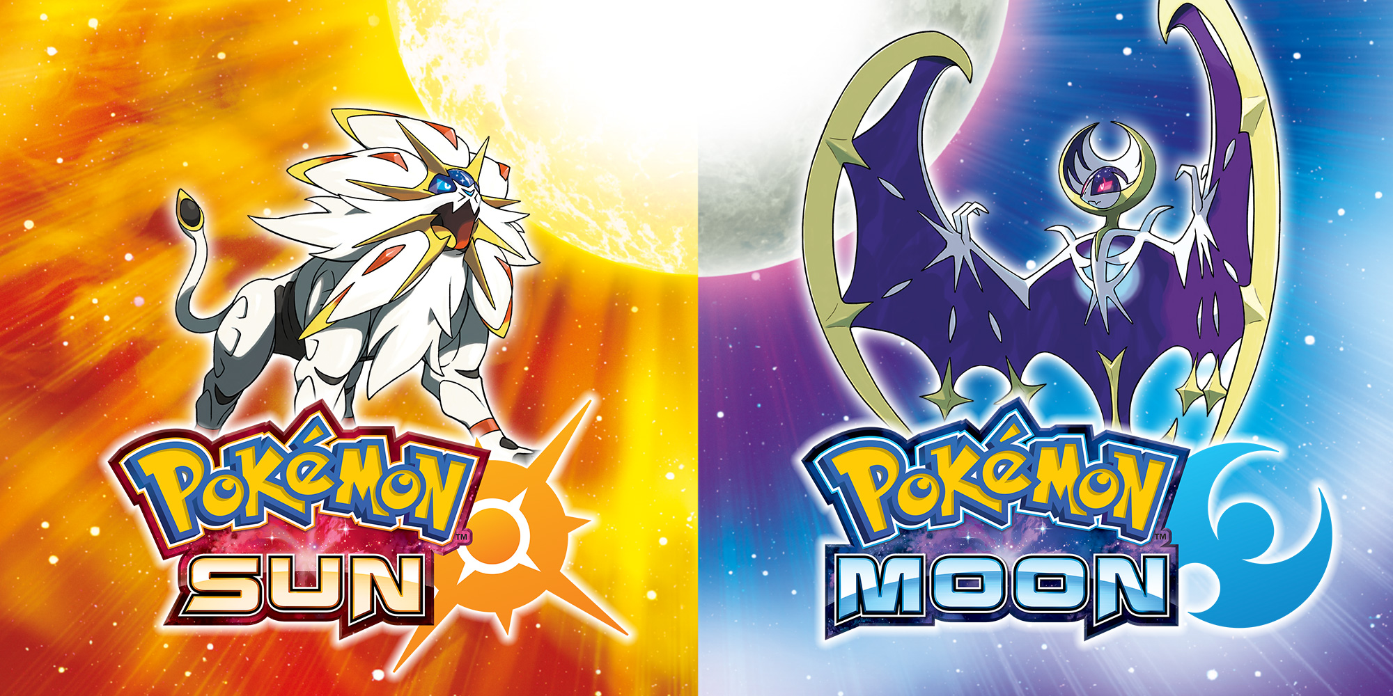 Pokémon Sun and Pokémon Moon!