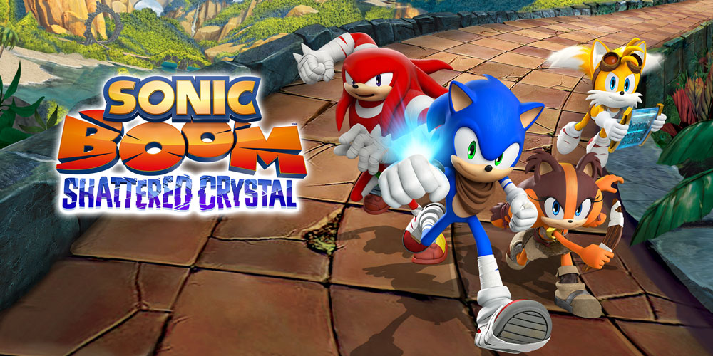 Sonic Boom Shattered Crystal Nintendo 3ds Games