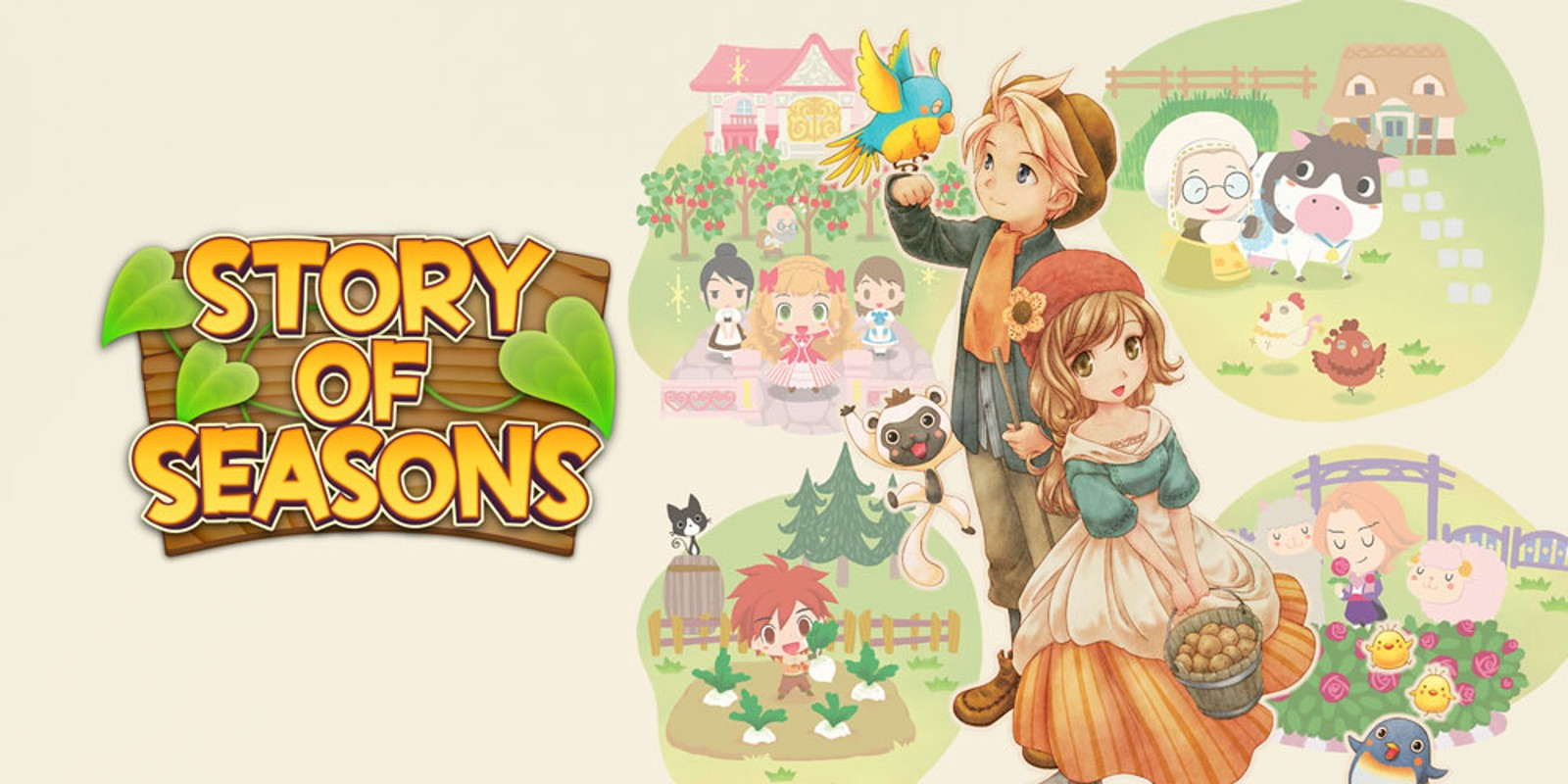 Cream colored dress story of seasons 3ds